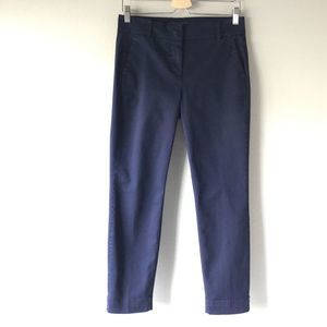 NEW J.CREW Stretch Chino Cropped Pants Size 6